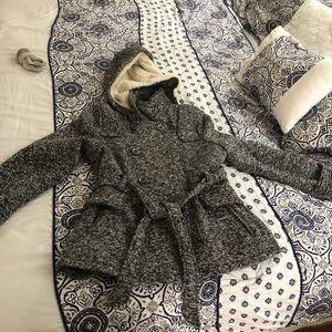 Grey P-Coat by YMI